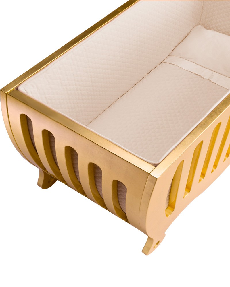 Bela Luxury Cot Gold Edition