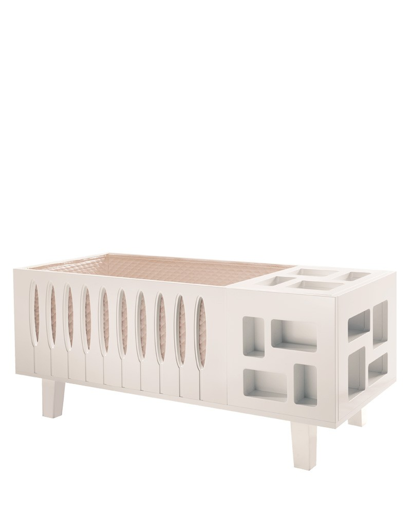 Grand Sonno Crib White Edition