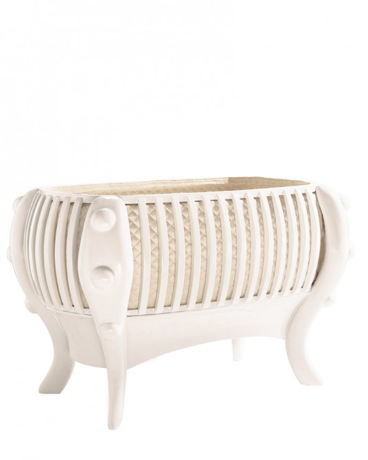 La Perla Crib White Edition